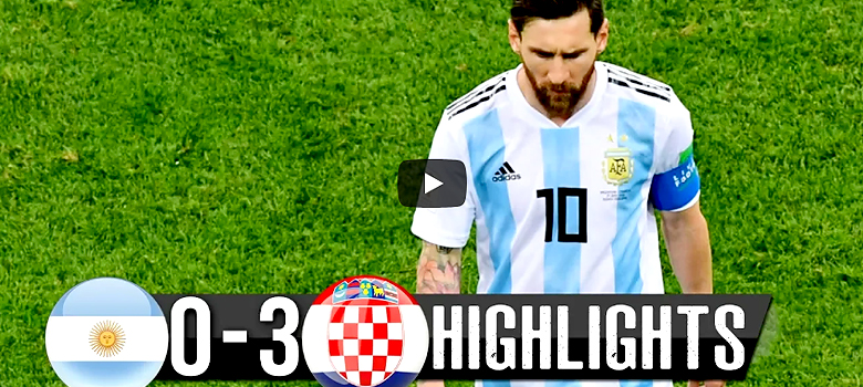 VIDEO: Total DISASTER for Messi and Argentina! They lost again, now against Croatia 0:3!