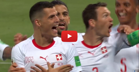 And NOW scored Switzerland! Watch the goal to 1:1!