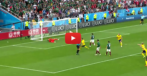 VIDEO LIVE: Second goal for Sweden from penalty!