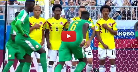 NICE GAME - watch the highlight video: Senegal v Colombia - 0:1