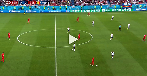 WatchTheVIDEO: Excellent GOAL for Belgium - NOW against England 1:0