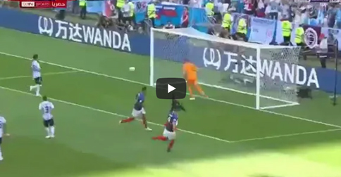 VIDEO: France scored - watch now the first of the game against Argentina